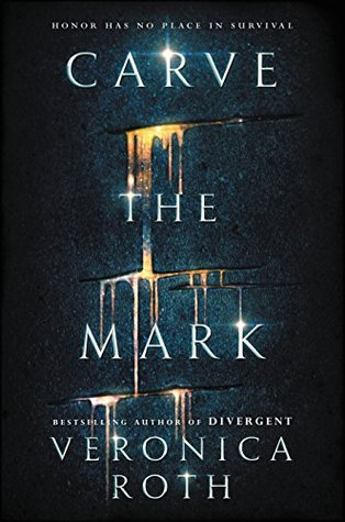 "Veronica Roth's new book ""Carve the Mark."""